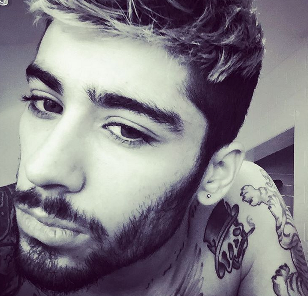 Zayn malik shows off serious beard in new instagram photo the